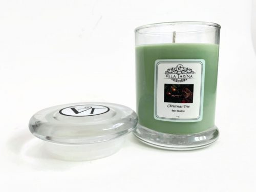 Christmas Tree Pure soy candle Holiday