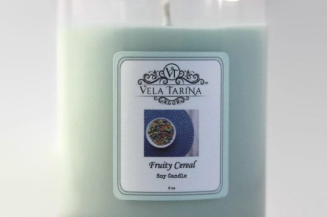 Fruity Cereal Soy candle Vela Tarina