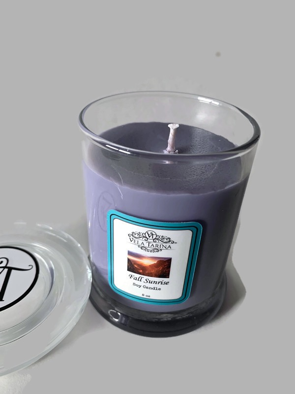 TriOne Collection vegan soy candle