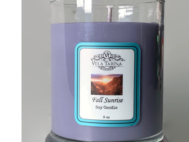 Pure Soy Candle Fall Sunrise