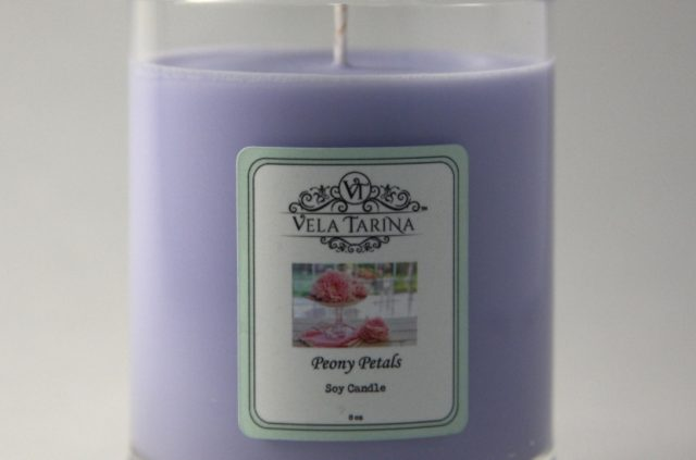 TriOne Collection Peony Petals Candle
